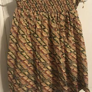 Anthropologie Grassland Gallop Skirt